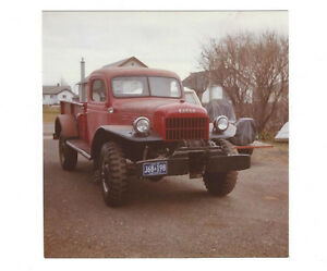 Power Wagon 1953