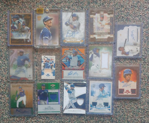 Toronto Blue Jays Baseball Cards- Autographed and Relic Cards