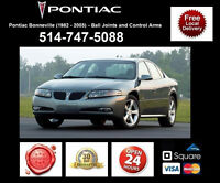 Pontiac Bonneville – Control Arms and Ball Joints