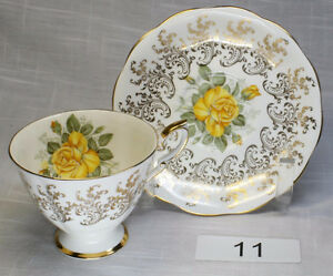 For Sale. Vintage Bone China Cups and Saucers 2