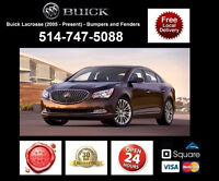 Buick Lacrosse ► Ailes et Pare-chocs • Fenders and Bumpers