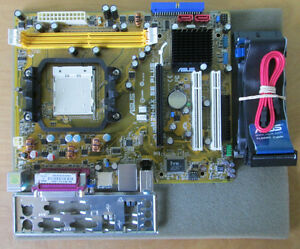 Asus M2N-MX SE Plus Socket AM2/AM2+ motherboard