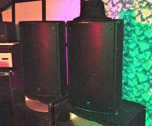 2 Yorkville NX25P-2 300 Watt Powered Speaker (TRadE)