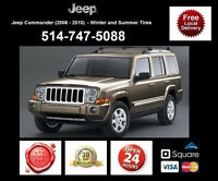 Jeep Commander – Winter and Summer Tires • Pneus D'Hiver et Ete