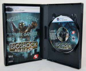 Bioshock - PC DVD Game - mint
