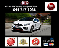 Kia Ceed GT – Bearings and Calipers • Roulements et étriers