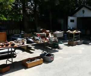 Garage Sale with Hand Tools – Hand Planes – Saws - Chisels