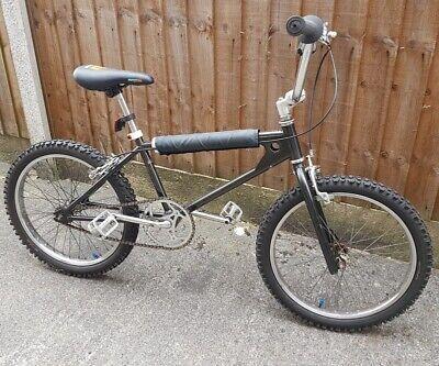 Ammaco Mongoose Wire Wheel - 1985 Old School BMX - Chrome Moly Frame (Black)
