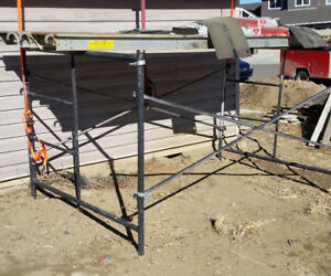 scaffold and aluminium platform for sale