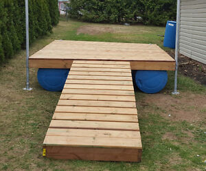 New 8x8 Dock with 8x3 walk way can deliver.