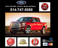 Ford F150 - Brakes and Rotors • Freins et Disques