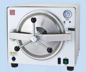 110V Automatic Autoclave Steam Sterilizer 18L 210043