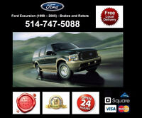 Ford Excursion - Brakes and Rotors • Freins et Disques