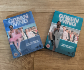DVD's Green Wing Series 1 & 2