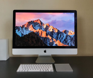 Apple iMac 27 inch 2.9 GHz Hard drive 1 TB