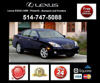 Lexus ES330 – Fenders and Bumpers • Ailes et Pare-chocs