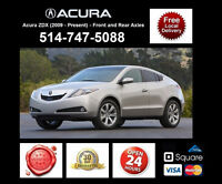 Acura ZDX – Spindles and Axles • Broches et Essieux