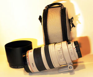 like new canon EF 100 400 L IS USM telephoto lens