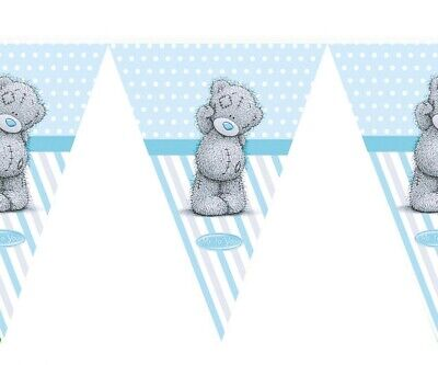 Party Banner Birthday Decorations PARTY supplies Flag (Teddy Bear Party Supplies)
