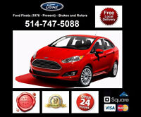 Ford Fiesta - Brakes and Rotors • Freins et Disques