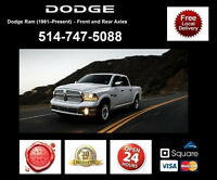 Dodge Ram 1500 - Spindles and Axles • Broches et Essieux