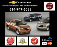 Chevrolet Avalanche - Spindles and Axles • Broches et Essieux