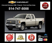 Chevrolet Silverado - Spindles and Axles • Broches et Essieux