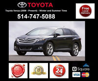 Toyota Venza – Winter and Summer Tires • Pneus D'Hiver et Ete