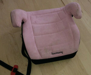Harmony booster seat for car