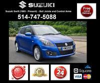 Suzuki Swift ► Bras Suspension et Rotules • Control Arms