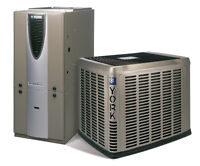 Upgrade to a High Efficiency York Furnace and Air Conditioner!