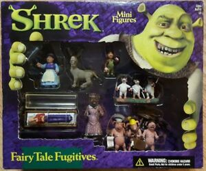 Shrek Mini Figures - Fairy Tale Fugitives - New