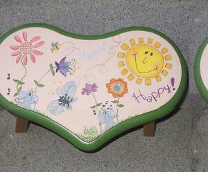 Painted Foot Stools