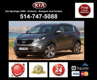 Kia Sportage – Fenders and Bumpers • Ailes et Pare-chocs