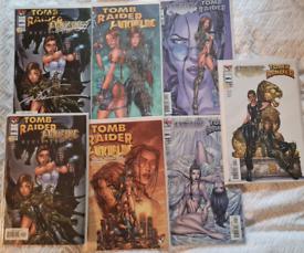 Witchblade comics x 26 (inc. Tomb Raider)