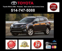 Toyota Rav4 – Control Arms and Ball Joints • Bras Suspension
