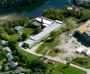 2000'  in historic stone  mill building