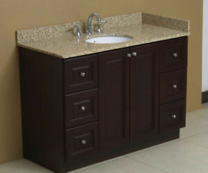 "Brand New 48"" Bathroom Vanity sink cabinet 6-drwr/2-dr"
