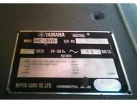 Yamaha YC 25 D organ and amp