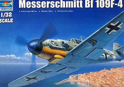 Trumpeter Messerschmitt Bf 109F-4 JG.53 Maltzahn Assi UDET 1:32 Modell-Bausatz