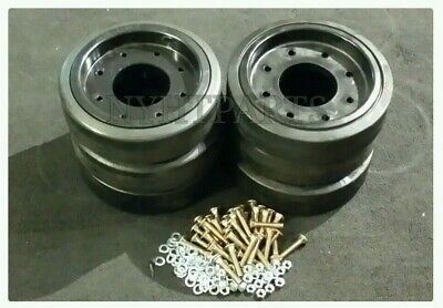 Bogie Wheel Kit X2 For Asv Rc85 Rc100 Rcv Pt100 0703062 0703063 0703191 0703190