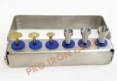 Dental Implant Surgery Instrument Sawtrephine Bur Mini Kit