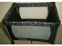Mothercare travel cot and playpen heavy duty, condition like new.
