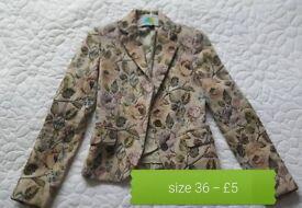 Jacket size 36 - ZARA