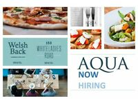 Aqua Restaurants is looking for Chef De Parties in Clifton and Welsh Back