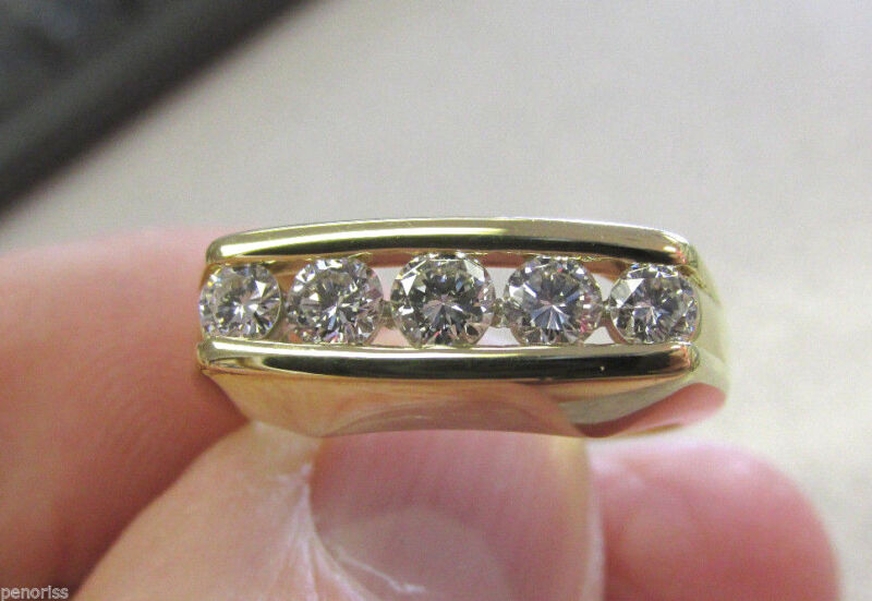 High Quality 18k F/g  Vs1  .70 Ctw Diamond Ring Serial Numbered  9   Make Offer