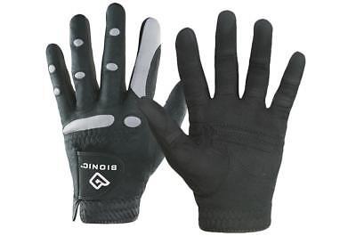 Bionic Gloves AquaGrip Rain Gear Golf Glove 2X-Large Black Worn On Right Hand