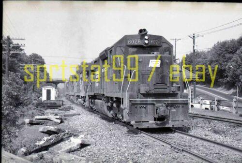 PC Penn Central EMD SD35 Locomotive #6026 - Vintage 35mm Railroad Negative