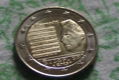 2 EURO COMMEMO LUXEMBOURG 2013 HYMNE NATIONAL