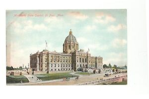 St. Paul, Mn, Minnesota State Capitol unused postcard
